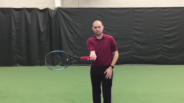 A Quarter Can Help Your Ground Strokes
