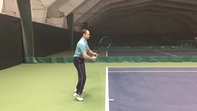Forehand Ground Stroke Demo