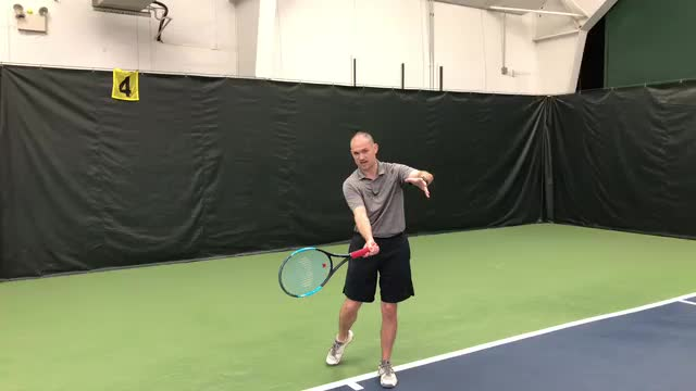 Six Check Points On The  Forehand Ground Stroke