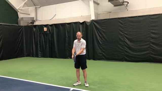 Six Check Points On The Two-Handed Backhand Ground Stroke
