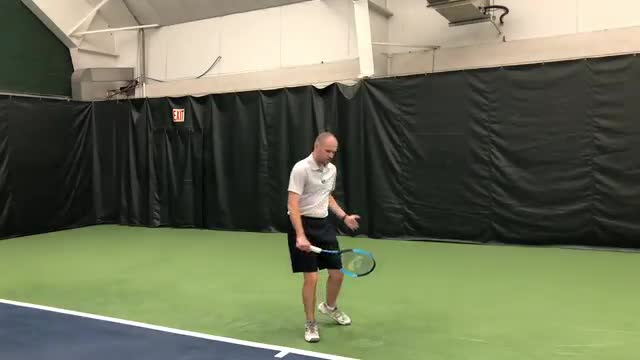 Five Check Points On The  One-Handed Backhand Ground Stroke