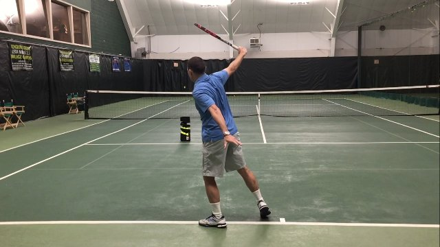 How to Hit an Open Stance Backhand
