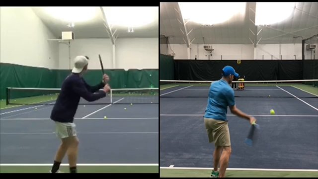 Video Private Lesson: Daniel - Forehand