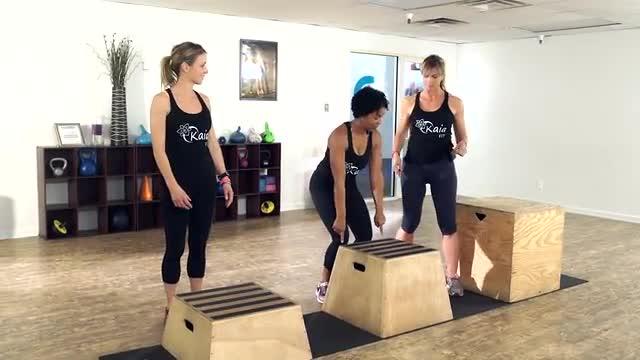 Plyo Boxes - Kaia Killer Workouts