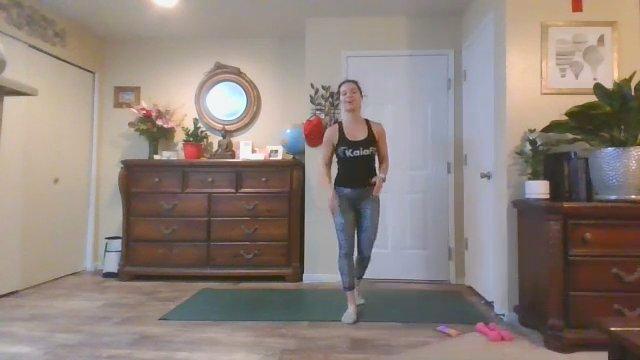 Kaia Cup Benchmark Workout w/ Coach Emily | 45 min