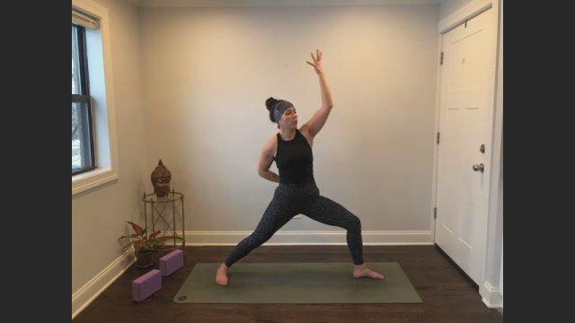 45 min. Power Yoga