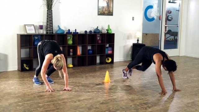 Cone Challenge - Kaia Killer Workouts