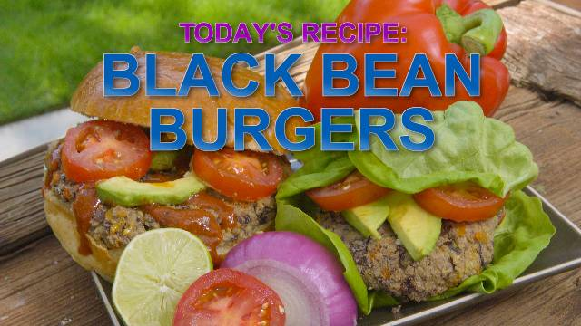 Black Bean Burgers - Kaia Kitchen