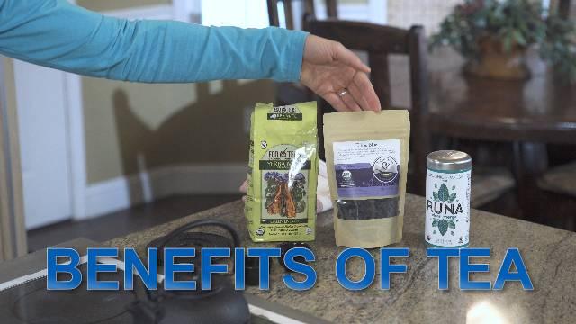 Benefits of Tea - Kaia Kitchen