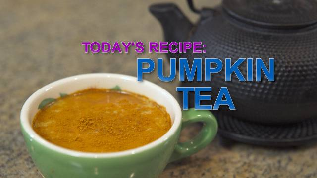 Pumpkin Tea - Kaia Kitchen
