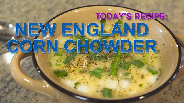 New England Corn Chowder - Kaia Fit
