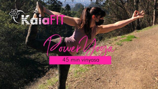 45 min. Power Yoga w/ Coach Angela
