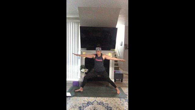 Yoga-Pilates to De-Stress   60 min