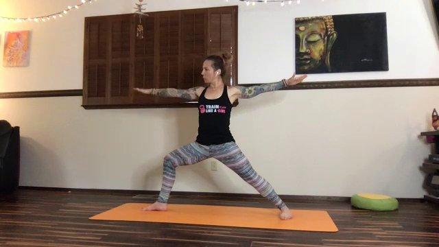 Yoga w/ Coach Julia   60 min
