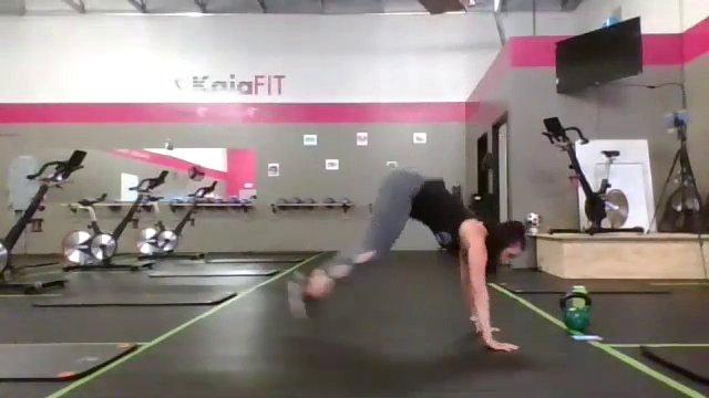 Cross-Training w/ Coach Emily   45 min