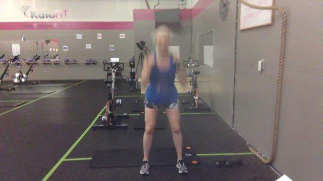 Cross-Training w/ Coach Holly   45 min