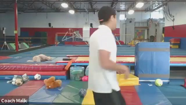 Tramp & Tumbling Level 1 w/ Coach Malik