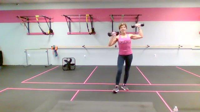 Cross-Training w/ Coach Dawn   45 min