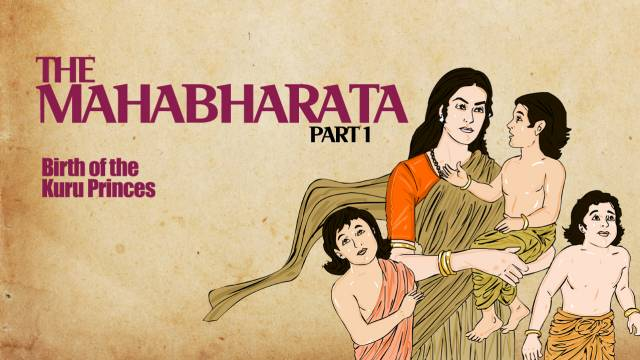 Mahabharata - Birth of Pandavas Kauravas.mp4