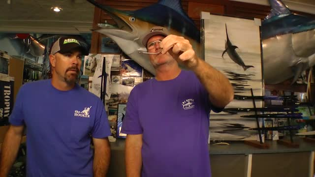 Offshore Trolling Lures - Hook Discussion with Andy Moyes