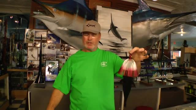 Dredge Fishing - Artificial Baits on the Dredge