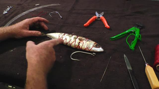 Daytime Swordfish Baits - Rigging Tinker Mackerel