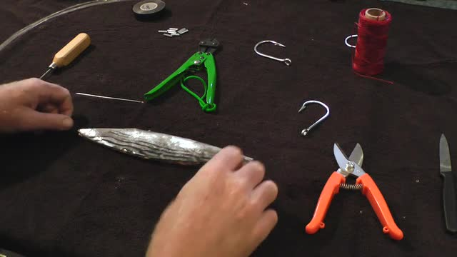 Daytime Swordfish Baits -Rigging a Panama Bait