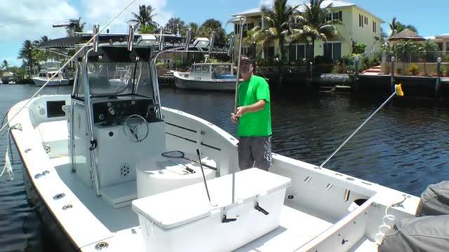 Dolphin Fishing - Boat Setup