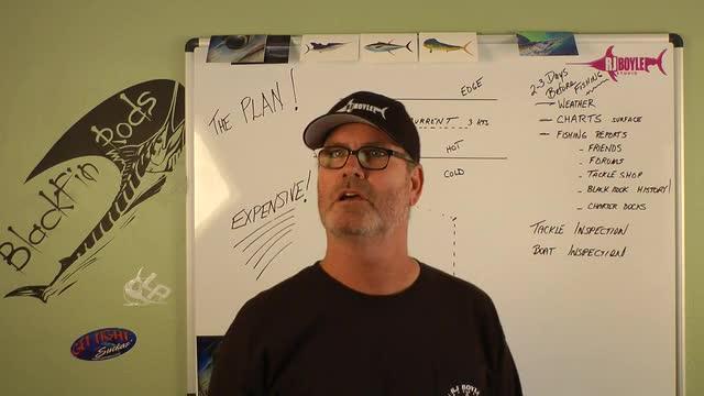 Dolphin Fishing - The Plan