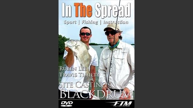Black Drum Fishing  on the Flats