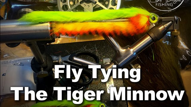 Tying the Tiger Minnow with Capt. Chad Bryson