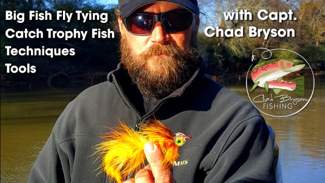 Tying the Flaming Chicken with Capt. Chad Bryson