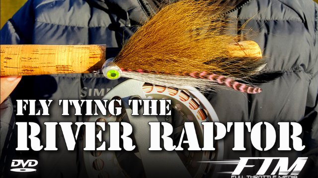 Tying the River Raptor with Capt. Chad Bryson