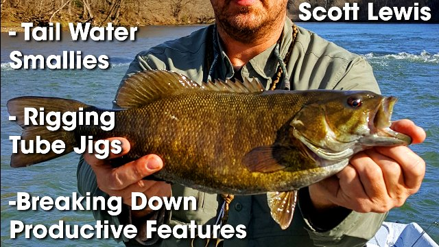 Jigging Smallmouth Bass with Scott Lewis