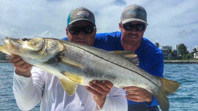 Inlet Snook Fishing