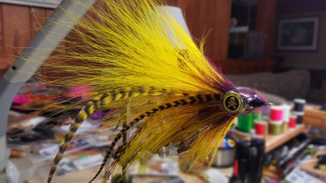 Tying the Sleepy Hollow Musky Fly