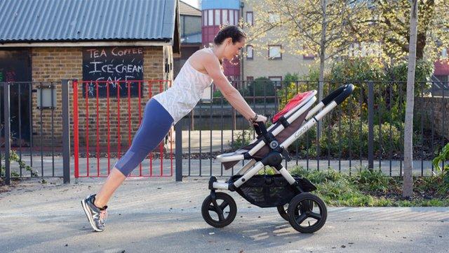 Pre-Stroller Run Warm Up