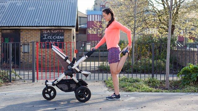 Post-Stroller Run Reset