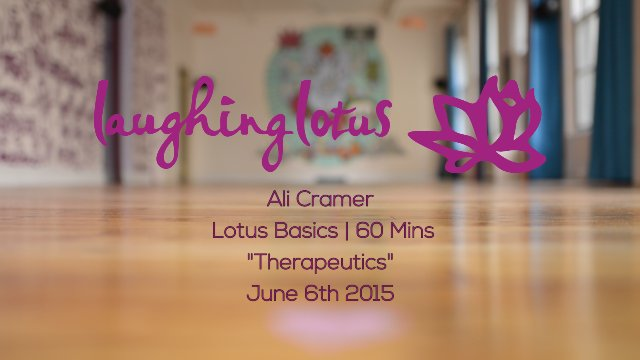 Lotus Flow Basics/Therapeutics