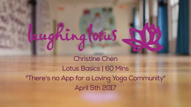 There's no App for a Loving Yoga Community