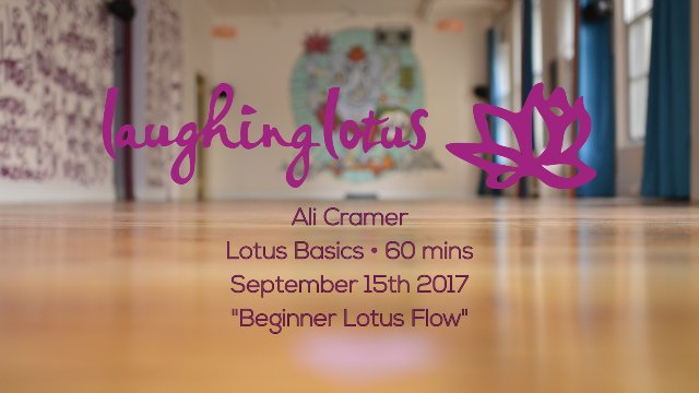 Beginner Lotus Flow