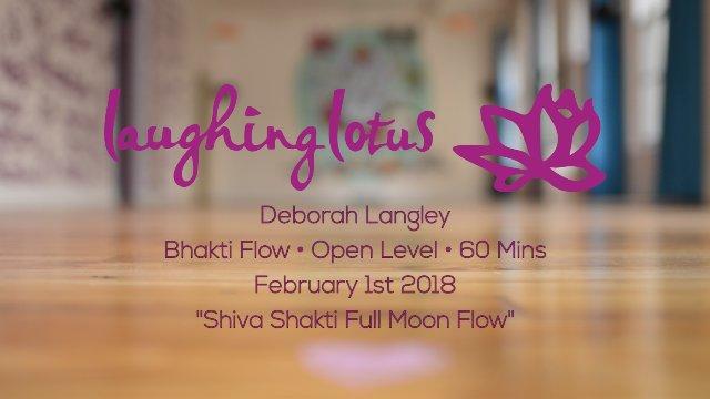 Shiva Shakti Full Moon Flow