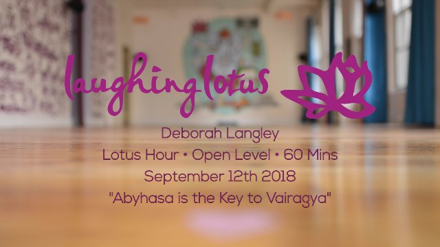 Abyhasa is the Key to Vairagya