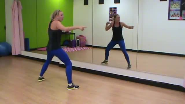 Cardio Kickboxing (Workout 3)