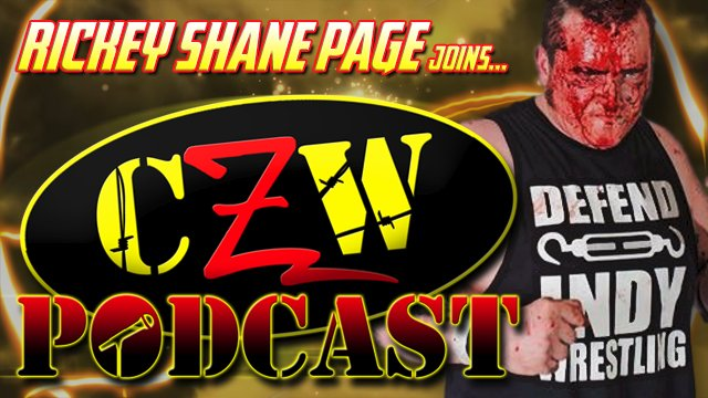 "CZW ""Podcast: Bleeding Black & Yellow"" Episode #7 (w/ Rickey Shane Page)"