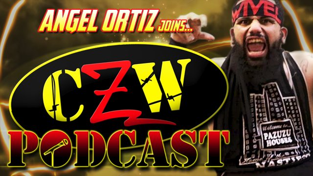 "CZW ""Podcast: Bleeding Black & Yellow"" Episode #12 (w/ Angel Ortiz)"