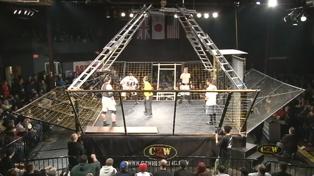 "CZW ""Cage of Death 13"" 12/3/2011 Philadelphia, PA"