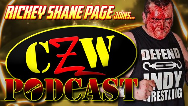 "CZW ""Podcast: Bleeding Black & Yellow"" Episode #37 (w/ Rickey Shane Page)"