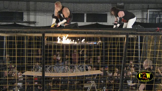 """CZW """"Cage of Death XXI"""" 12/14/2019 Voorhees, NJ"""