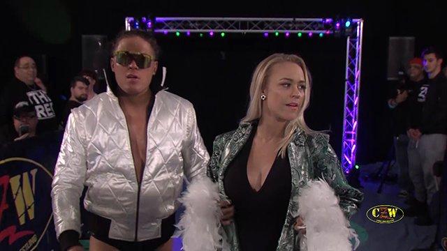 CZW: Joey Janela (w/ Penelope Ford) vs. Brandon Kirk